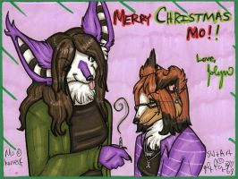 Merry Christmas Mo by silverwing