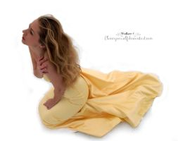 yellow dress Stock 3 by ClaimYourself
