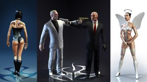 Hitman marketing renders by mojette