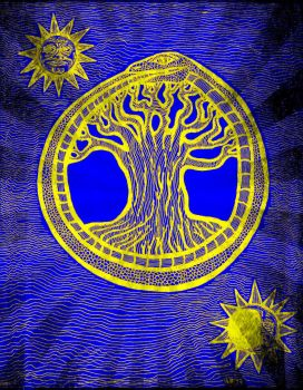 Alchemical Tree of Life by NachoGrinder77