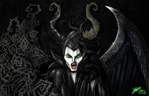 Maleficent by BunnyBennett