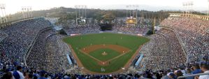 Dodger Stadium by rush71621