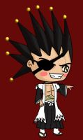 Kenpachi and his Eyepatch by IcyPanther1