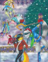 Happy Holidays by Icequeenkitty