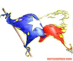 Texas Battle Flag by bkg82