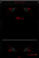 Roses Journal Skin by MoonZaphire