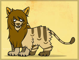 Mixed Creature Adopt 14 by LeveButt