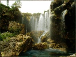 WATERFALL OF THE HEAVEN by aybars