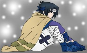 winter clothes sasuke by sozine2