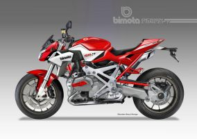 BIMOTA BB-4RR Street Fighter Concept by obiboi