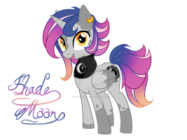 Pony OC: Shademoon by Celestialess