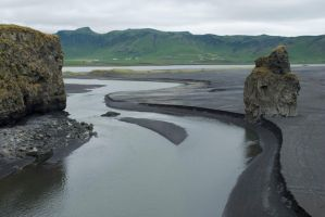 Black sand by chanali