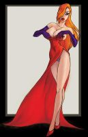 Jessica Rabbit strikes again by MyBeloved