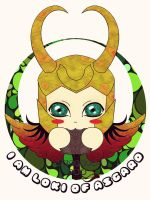 I'm Loki of Asgard! x3 by TsuNiponis