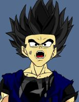 son gohan by crowshot27