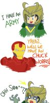 The Avengers : We have A Chuck Norris ! by SharpenArrow