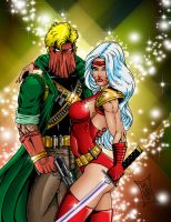 Grifter and Zealot by Soulgem01