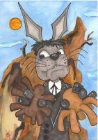Here Comes Peter Cottontail -  January Q Irontail by 10th-letter