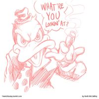 Howard the Duck sketch by Thinkbolt