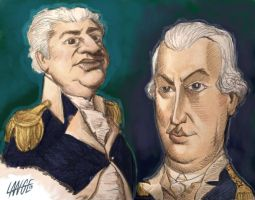 Founding Father Caricatures 3 by JoshMLange