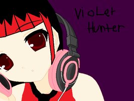 Violet and music by VioletTheCat