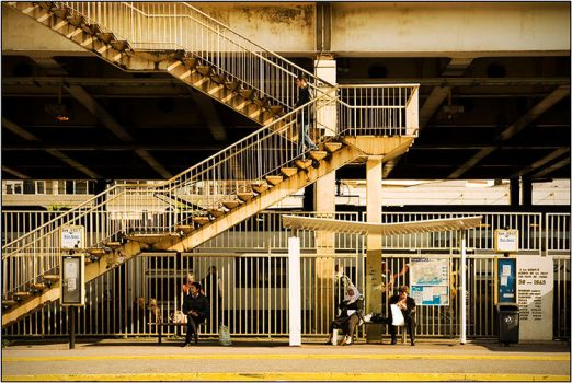 Cannes IV. - On the Station by kgeri