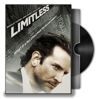 Limitless Movie DVD Folder Icon 2 by Omegas82128