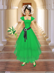 Buttercup Wedding Gown by 14ladybuggirl