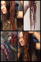 First Wool Accent Dreads Updated by ValkyrieOfODIN