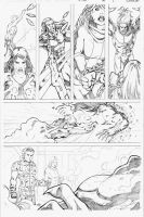X-Men test page 2 by Arciah