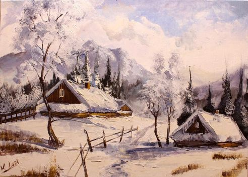 Winter in mountains by Kasia1989