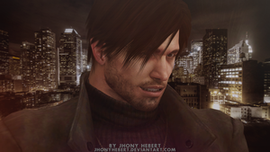 Chris Redfield in New York by JhonyHebert