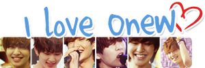 I love Onew by KyuBel
