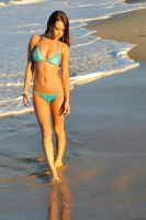 Annali - blue bikini walk 1 by wildplaces