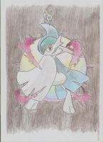 Mega Gallade it's here!! by Adripika