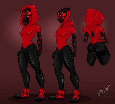 Another Collab: Spider Steckly by DapperPoe