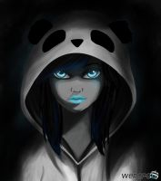 The Panda Girl by WePePe