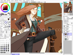 WIP - Pirate by mio-mio