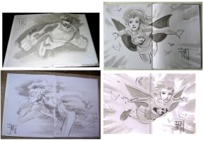 More Con sketches by manapul