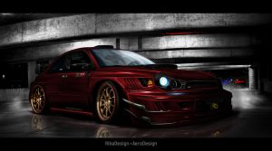 Impreza Nero d'inferno 2 by RibaDesign