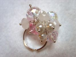 Pink Overdose Ring by kickthebucket