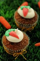 Carrot Cup Cake by MeSHa3eL