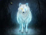 Jay The Ice Wolf by Foxeus