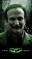 Robin Williams as the Joker by evansT