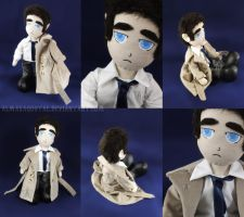 Castiel - Supernatural by almaxaquotal