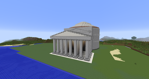 Minecraft - The Pantheon by MinecraftArchitect90