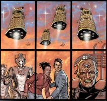 Doctor Who 6 Sketch cards by NIK-Nick