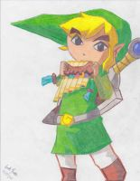 Toon Link (Spirit Tracks) by WolfieMacks