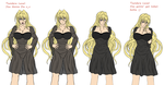 Sekirei - 4 Stages of Tsundere Tsukiumi by GeneralGM