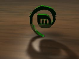 Linux Mint Debian screensaver by ShippD